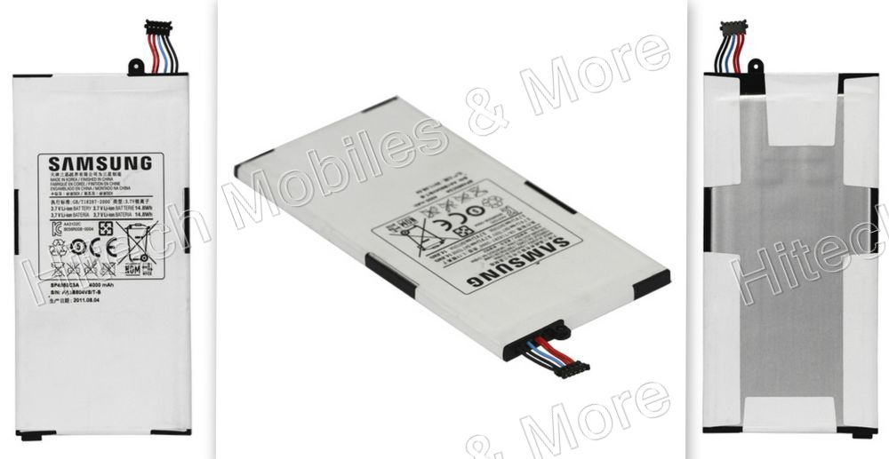 SP4960C3A Battery Replacement for Samsung P1000 Galaxy Tab 4000mAh