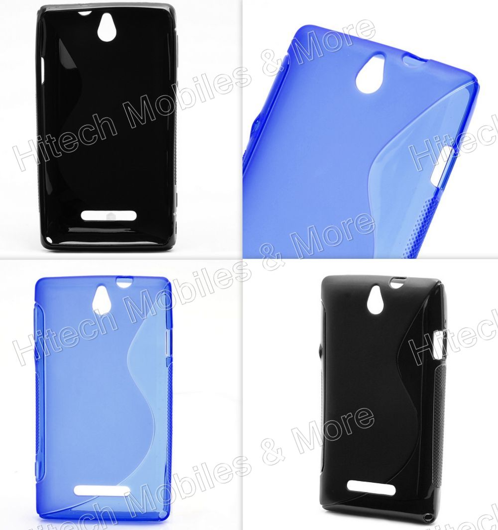 S Line TPU Jelly Case for Sony C1505 Xperia E