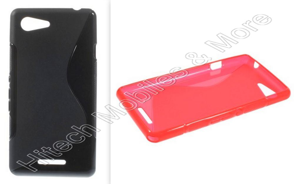 S Shape TPU Case for Sony Xperia E3 D2203 D2206