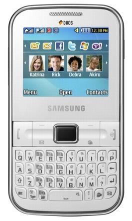 Samsung C3222 Dual Sim Sllver