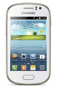 Samsung  S6810 Galaxy Fame White