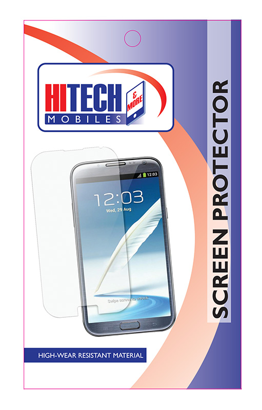 Clear Screen Protector For Huawei Ascend P6