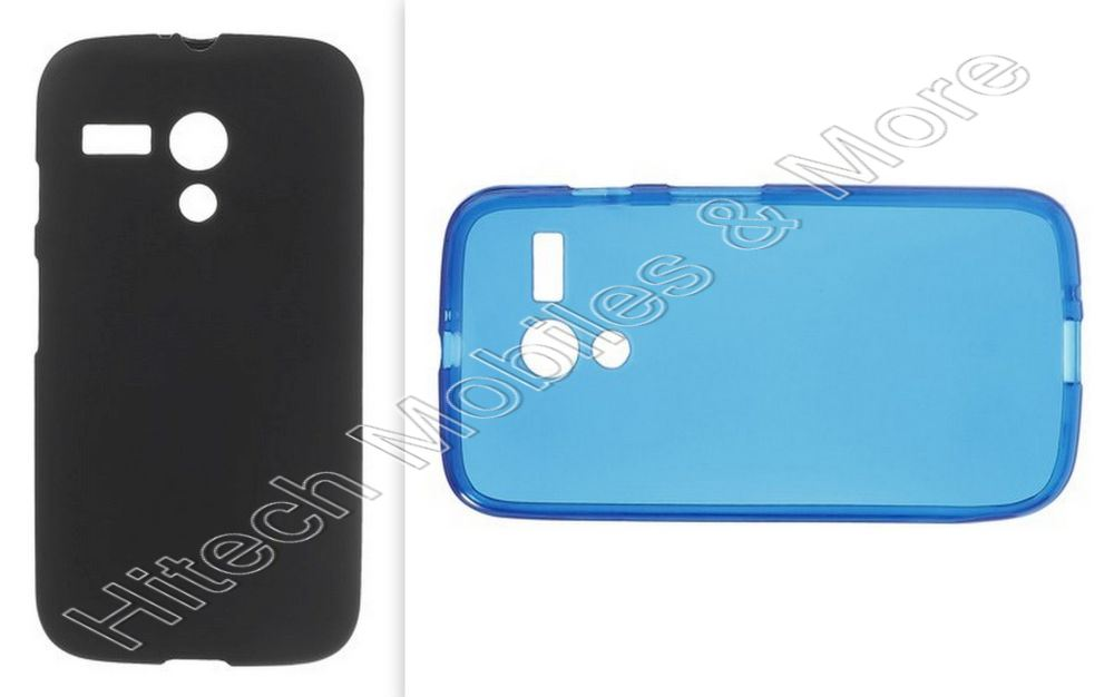 Soft Gel TPU Cover for Motorola XT1033 Moto G
