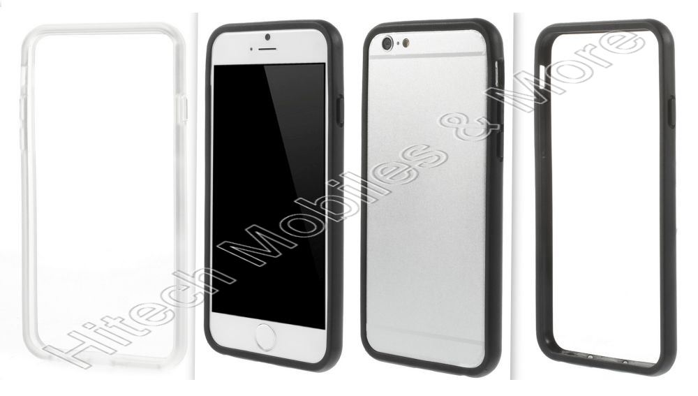 Soft TPU Bumper Cover for Apple iPhone 6 6S
