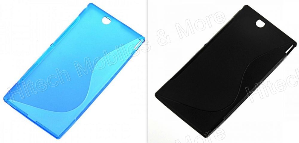 S Shape TPU Phone Case for Sony Xperia Z C6603