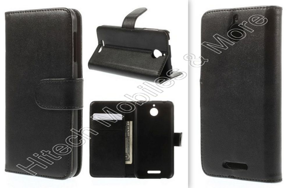 Wallet PU Leather Stand Case for Motorola Moto E2