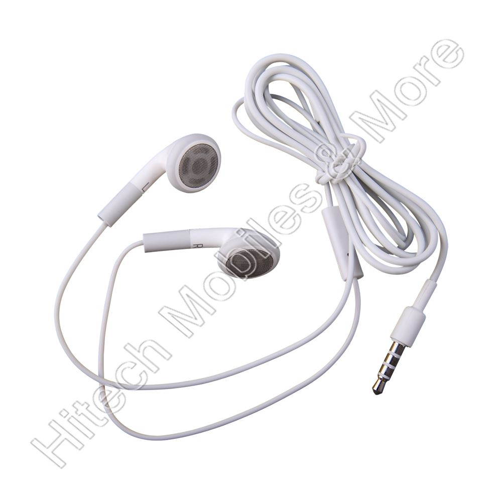 White Apple Iphone Headphone