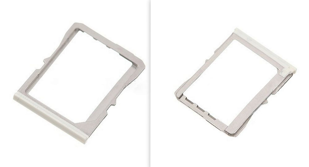 White SIM Card Tray Replacement for HTC One M7