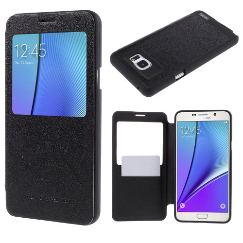 Window Case for Samsung Galaxy Note 5 N920
