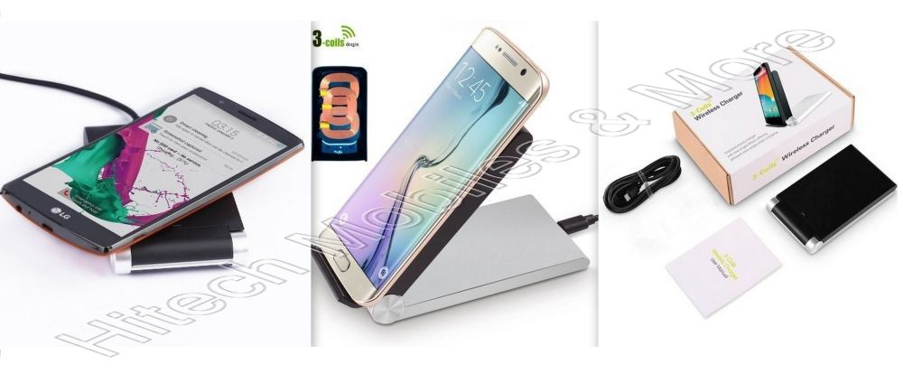 Wireless Charging Dock for Phones
