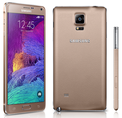 Samsung N910U Note 4 32GB Gold NZ New