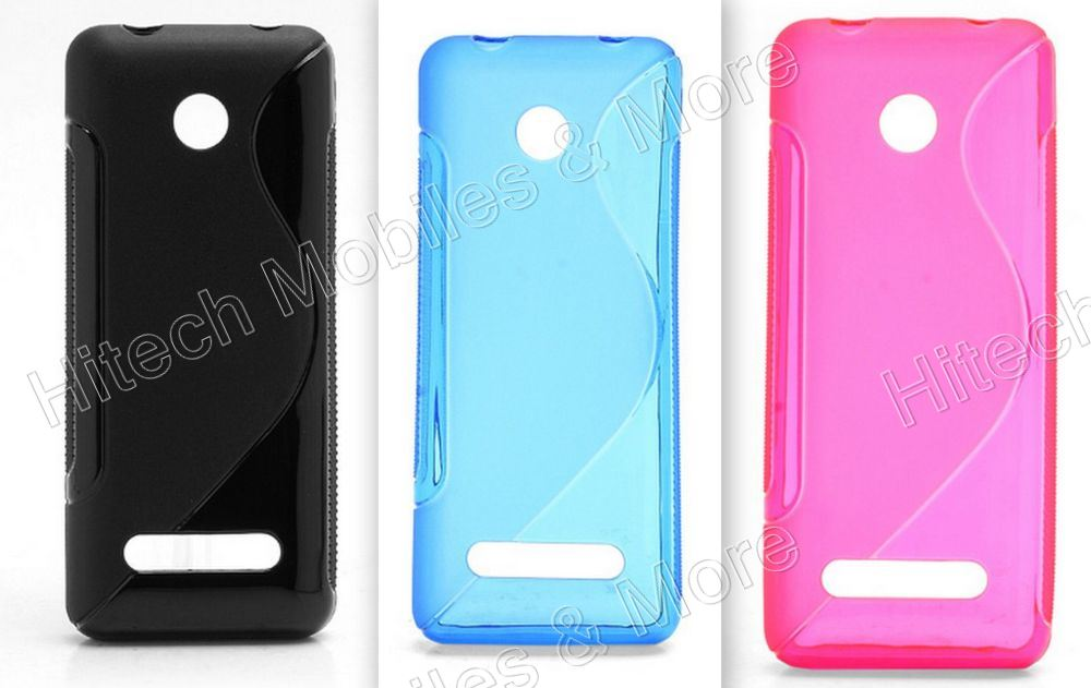 TPU S-Shape Soft Case For Nokia 206